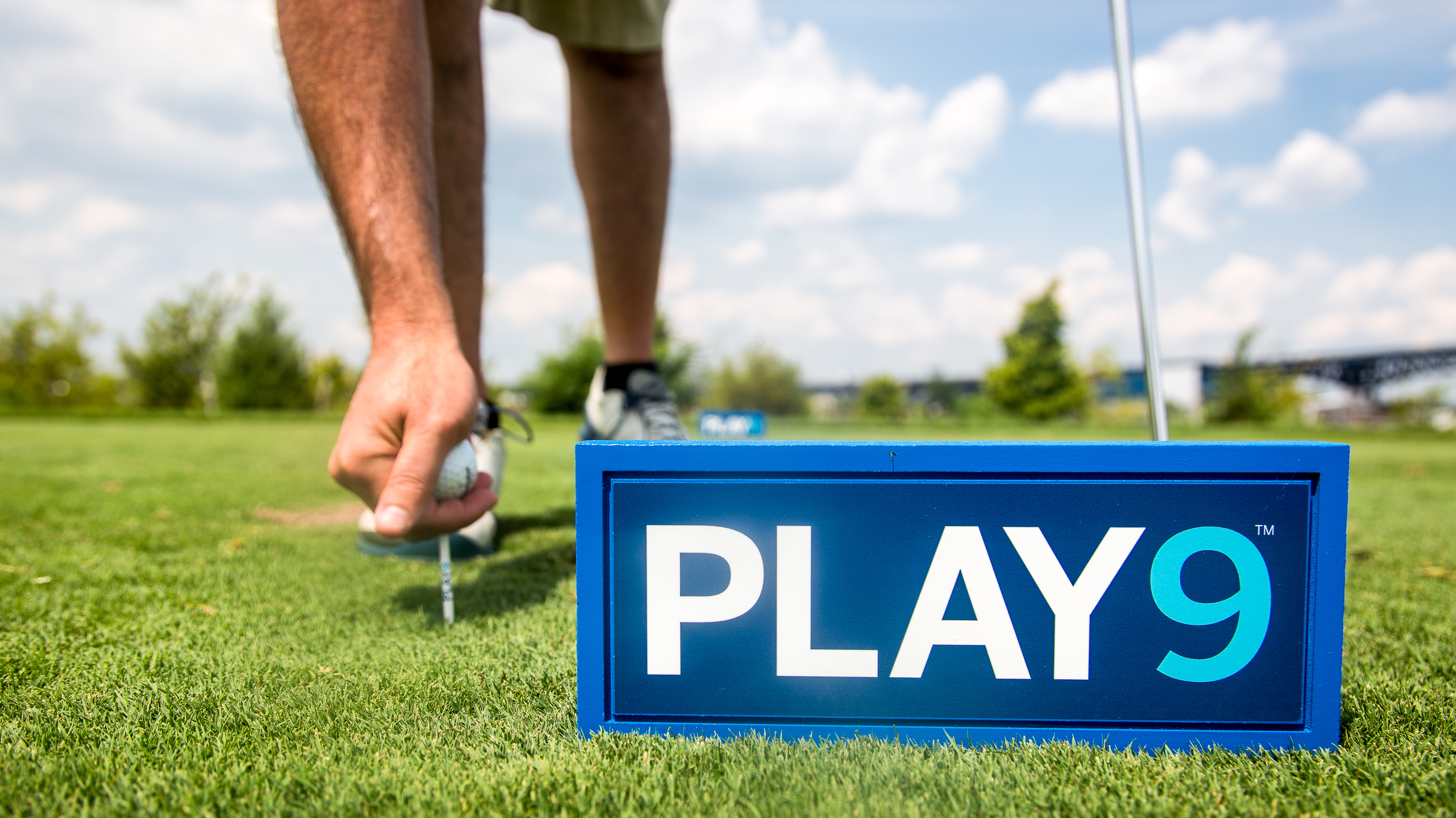 Don't have time to play all 18 holes,but want to squeeze in a quick 9-holes?