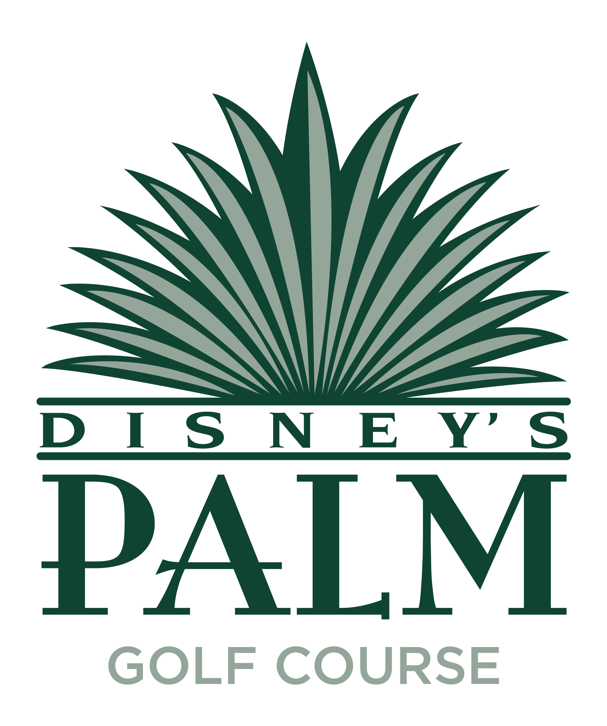 disney golf palm logo
