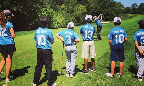 Disney golfs jr league