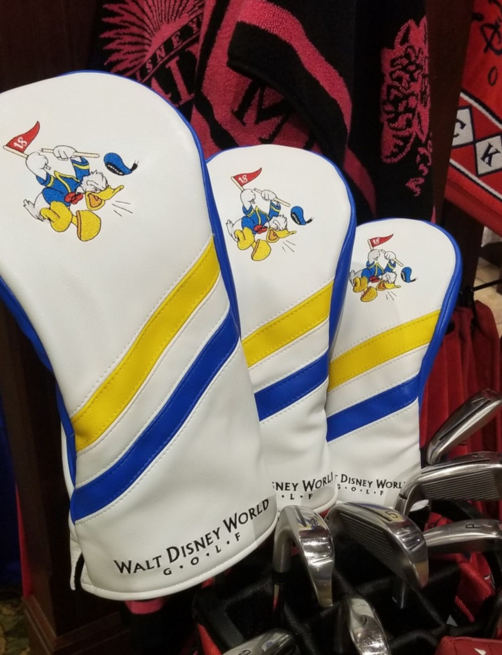 Donald Duck club head covers