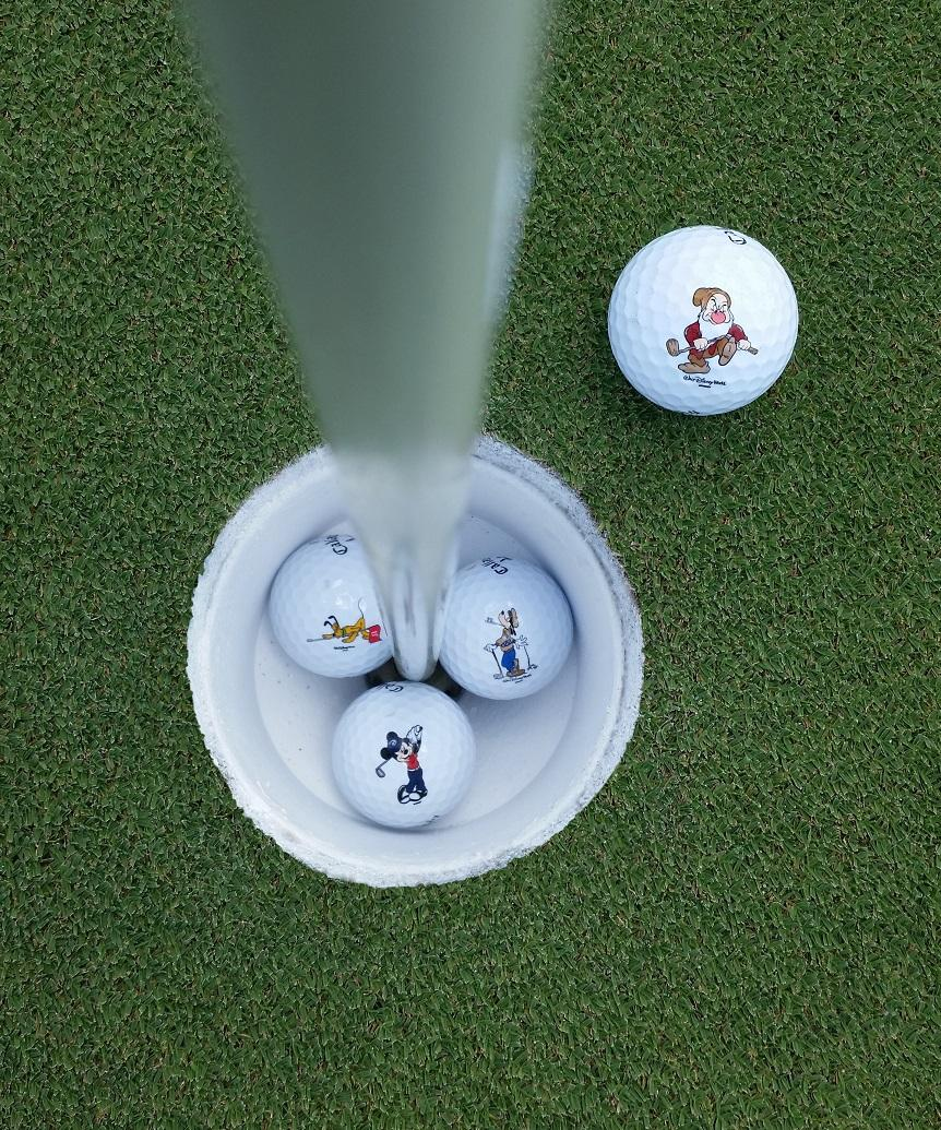 disney golf mickey golf ball