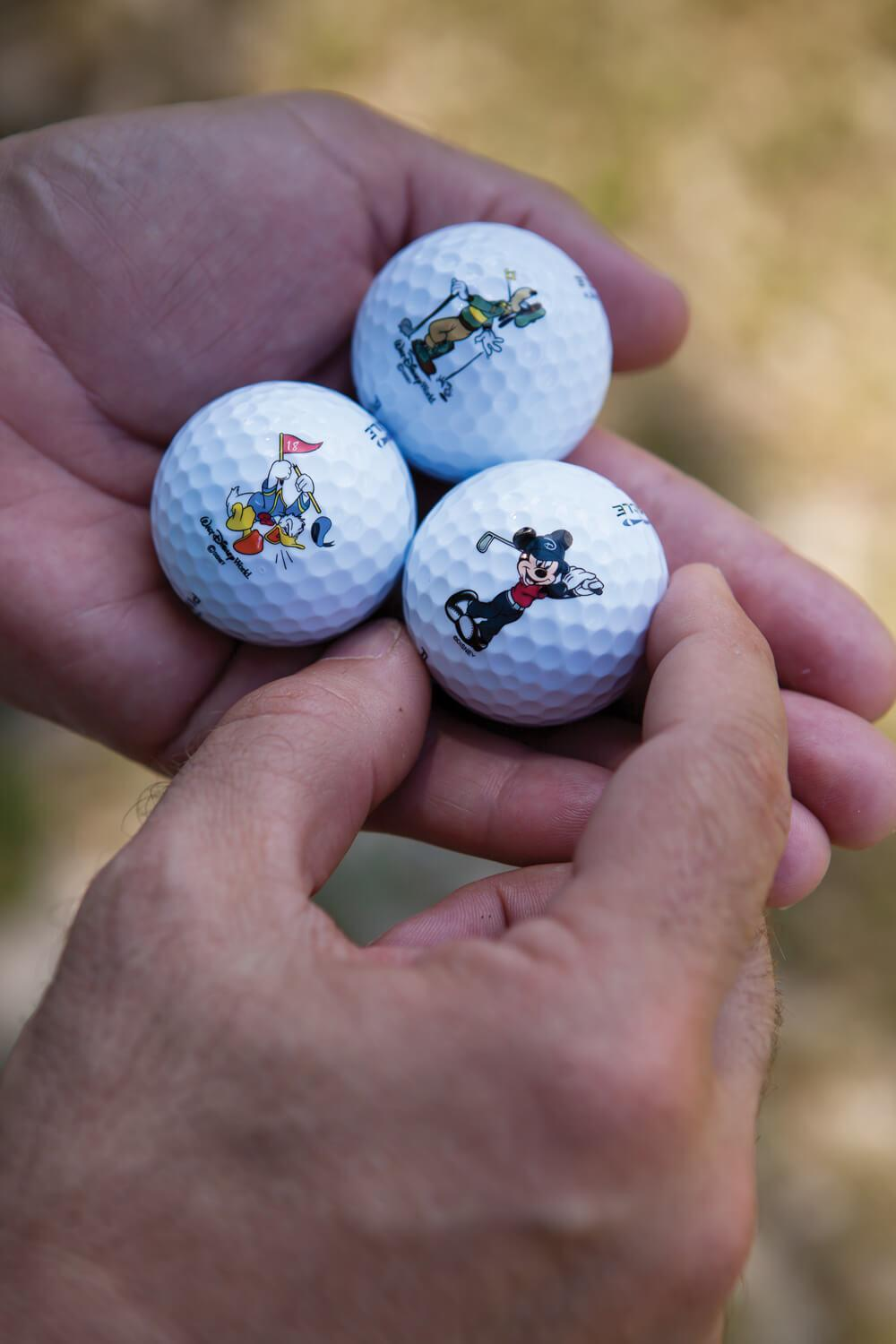 DIsney-Character-Golf-Balls