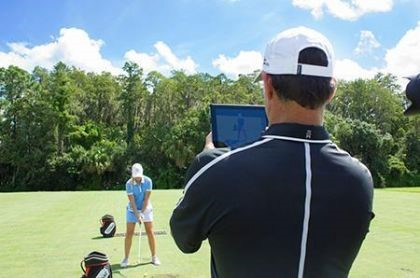 golf lesson with Michael Schlager