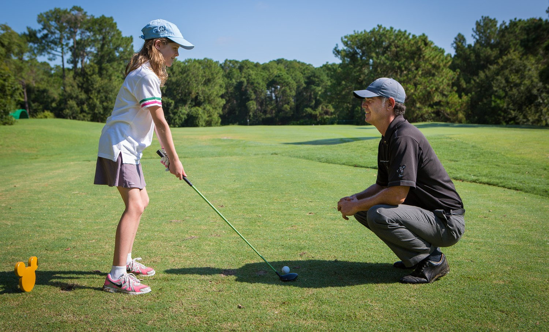 Golfwdw Children Golfing